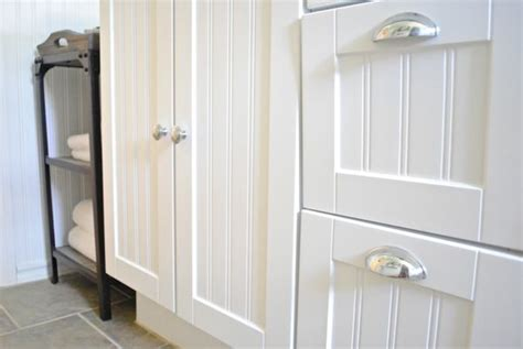 Bathroom Beadboard Vanities The Chronicles Of Home Guest Bathroom