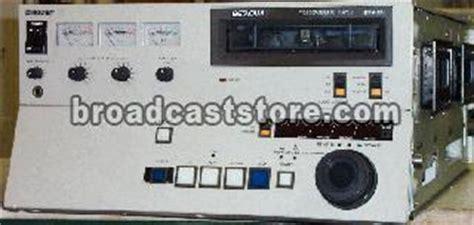 Betacam Sp 30 Menit Sony sony bvw 10 betacam player