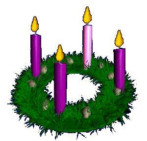 Advent wreath the makes