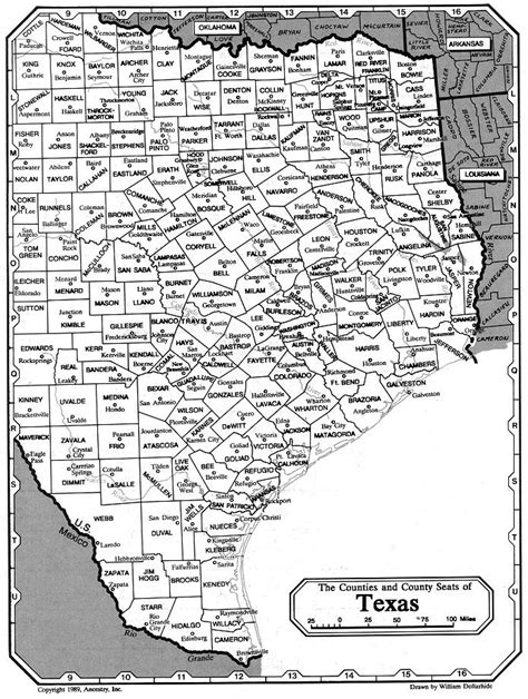 map of northeast texas counties oklahoma s nettie joan orr