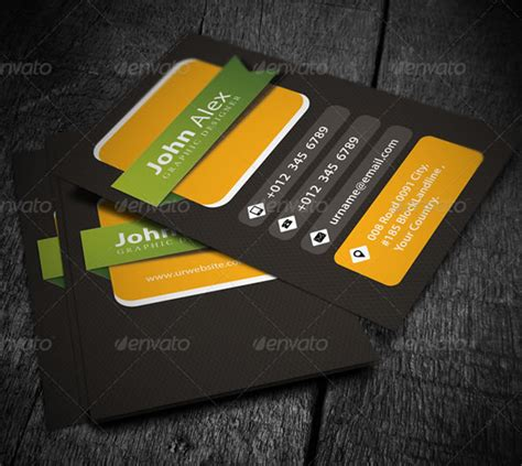 Personal Card Designer Template by Creative Business Card Design Ideas Entheos
