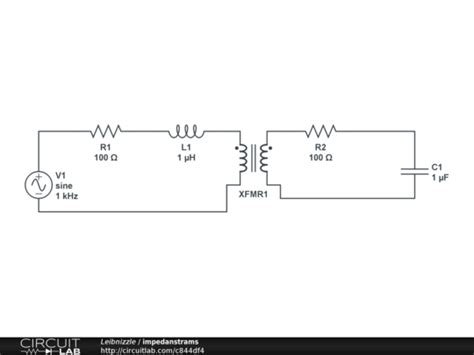 impedance transformer circuit transformer circuit equivalent impedance ceus now
