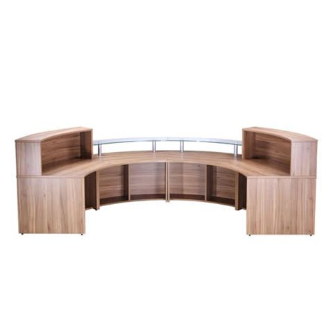 Semi Circle Reception Desk Curved Semi Circle Oi Counter Reception Unit Range Ebay