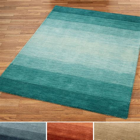 ombre area rugs brennon loomed wool ombre area rugs
