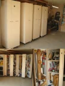 Garage Shovel Storage Ideas Diy Rolling Cabinets For Tool Storage 49 Brilliant