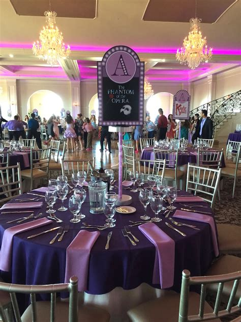 live themes for opera gallery broadway themed bat mitzvah party