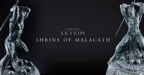 skyrim malacath 200 skyrim shrine of malacath statue available for pre order