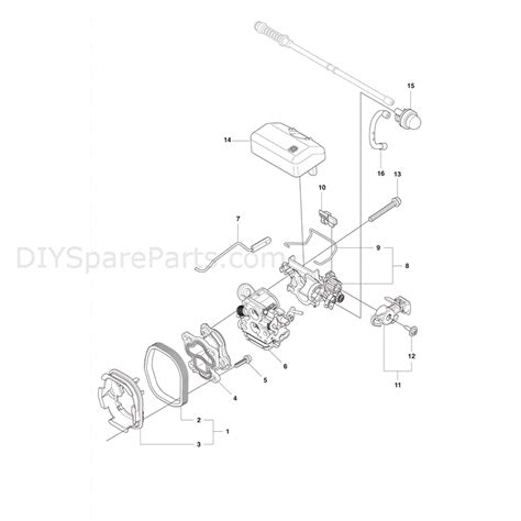 husqvarna chainsaw parts diagram husqvarna 435 chainsaw 2011 parts diagram carburetor