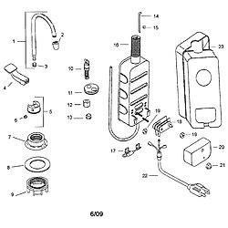 insinkerator parts diagram insinkerator water dispenser parts model hot11