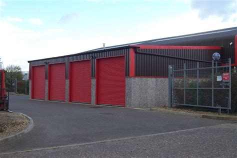Range Garage Services by Light Industrial Concrete Garage Range Birmingham West