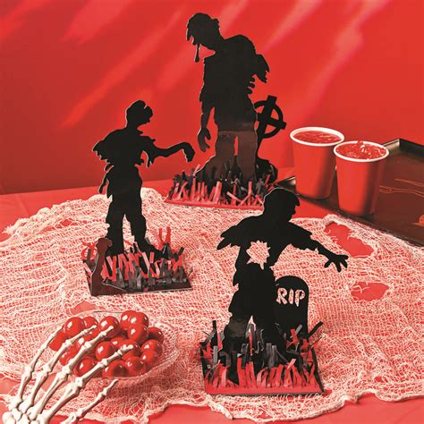 Zombie Party Decorations Zombie Table Decorations Zombie Party Halloween Zombie