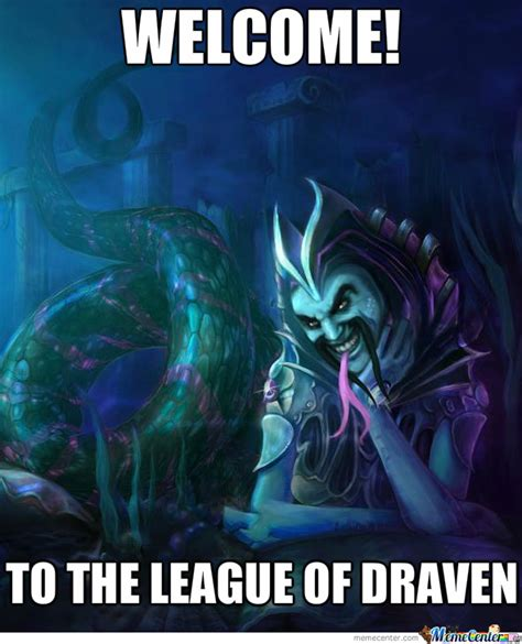 League Of Draven Meme - image 627801 draven s mustache league of draven