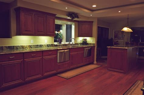 kitchen under cabinet strip lighting led kitchen strip lights under cabinet roselawnlutheran