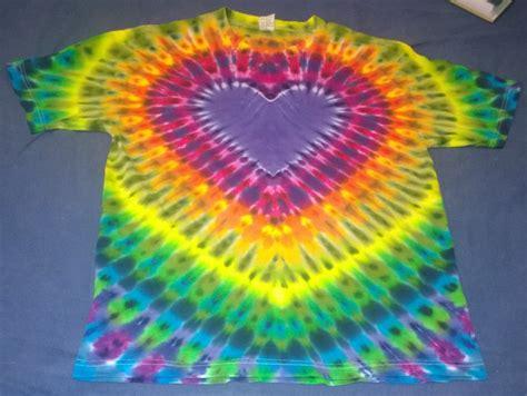 heart pattern tie dye new tie dye large aaa alstyle tshirt purple heart pattern