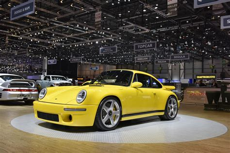 porsche ruf ctr2 the yellow bird looks like a 911 but it s a completely