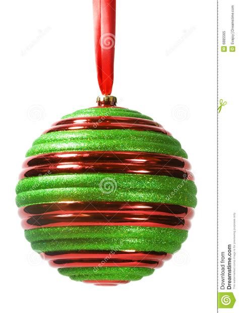 striped christmas ornament 1 royalty free stock photo