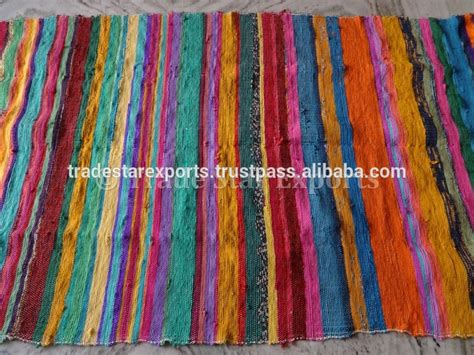 wholesale rag rugs woven indian dhurrie chindi rugs carpets vintage rug flooring wholesale mat view