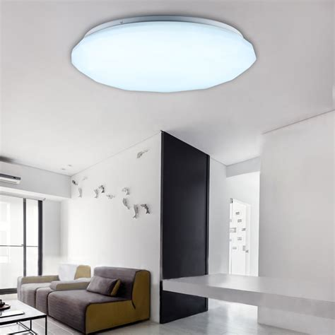 Living Room Ceiling Lights Uk 24w Led Ceiling Light Recessed Pendant Kitchen Bedroom Living Room Uk Ebay