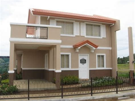 elaisa or sapphire model house of camella home series iloilo by camella homes erecre group camella homes elaisa model house