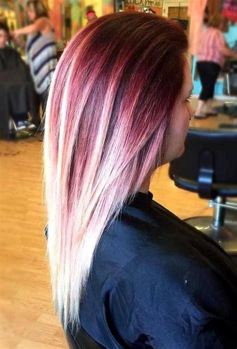 thrilling ideas  red ombre hair dark brown