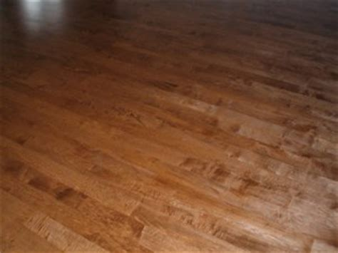 We Don't Usually Stain Maple Floors but    DC HARDWOOD