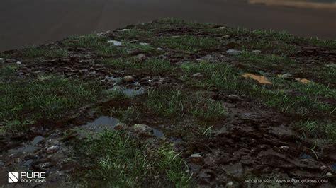 zbrush grass tutorial artstation grass mud and puddles marmoset jacob