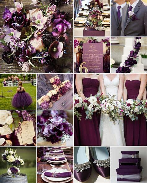 Aubergine / Eggplant Wedding Colours   Wedding Colours