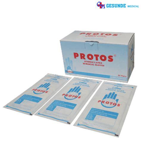 Sarung Tangan Protos sarung tangan steril surgical gloves size 7 5 toko medis