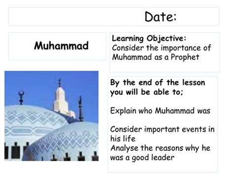 prophet muhammad biography ks2 muhammad story board by nette1 teaching resources tes