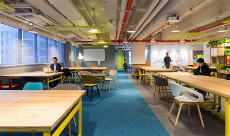 Anglepoise Desk Lamp The Wave Coworking Offices Hong Kong Office Snapshots