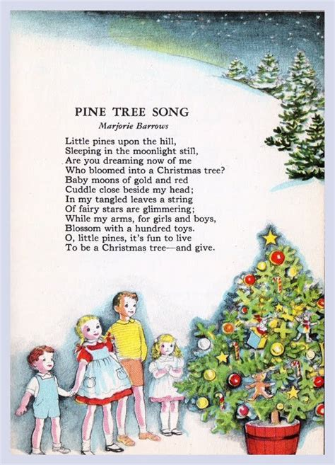 christmas tree poems for children always cravecute o tree