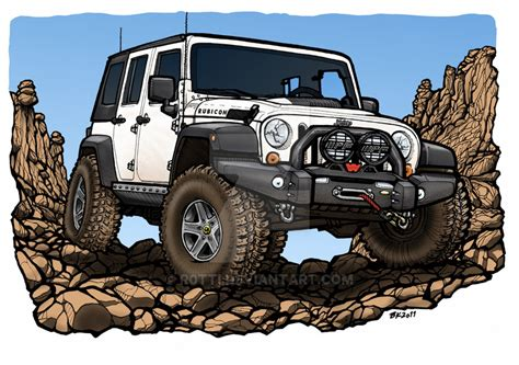 jeep artwork jeep unlimited aev commission by r0tti on deviantart