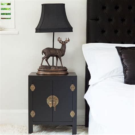 black bedroom side table rama sita black bedside cabinet bedside tables