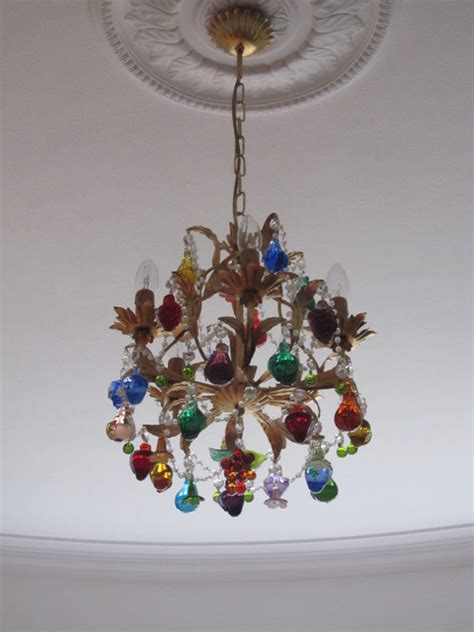 Murano Glass Fruit Chandelier Murano Glass Fruit Chandelier