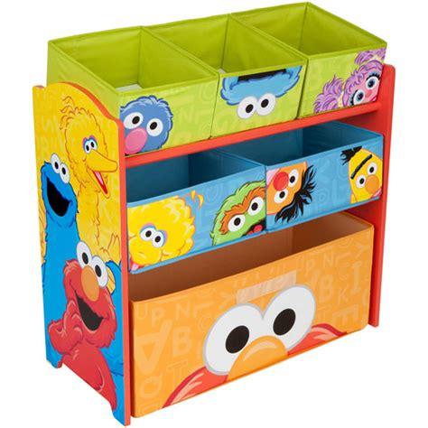 toy organizer sesame street multi bin toy organizer walmart com
