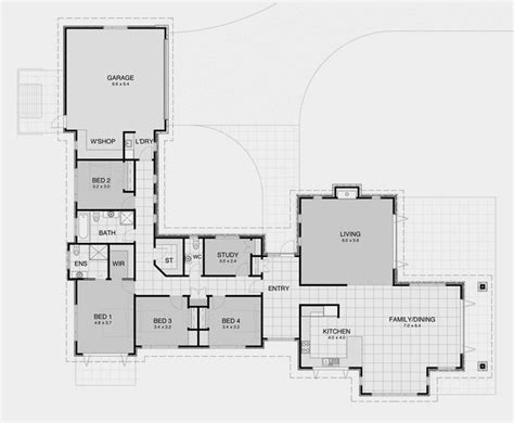 l shaped house plans modern best 25 l shaped house ideas on l shaped