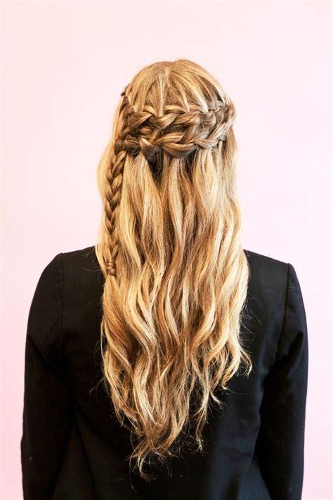 tutorial waterfall braid genius new promise ways to braid your hair