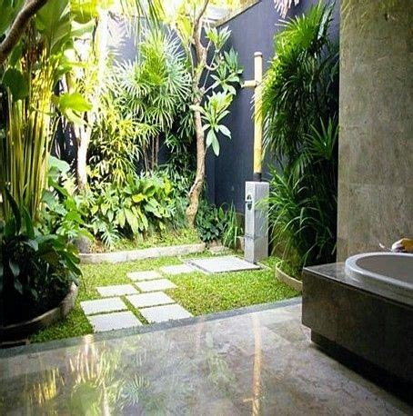 Garden Bathroom Ideas by Best 25 Indoor Outdoor Bathroom Ideas On