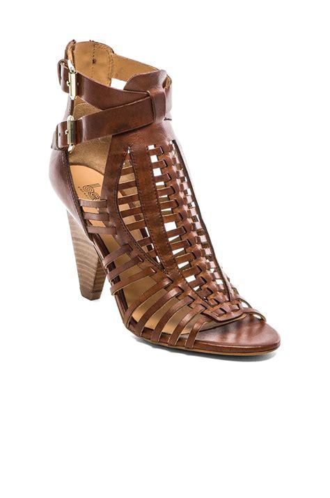 sigerson morrison sandals by sigerson morrison fola sandal in brown lyst