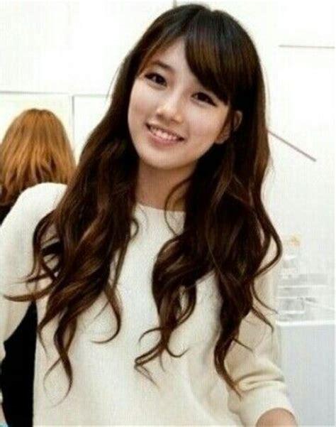 asian stars with bangs side fringe with long hair fringe hair pinterest