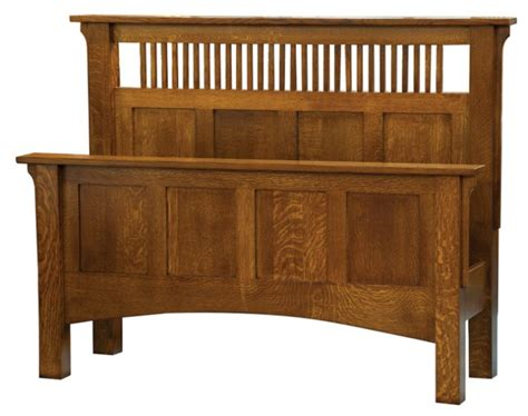 Quarter Sawn Oak Bedroom Furniture Arts Crafts Spindle Bed In Quarter Sawn Oak Bedroom Furniture Crafts Arts