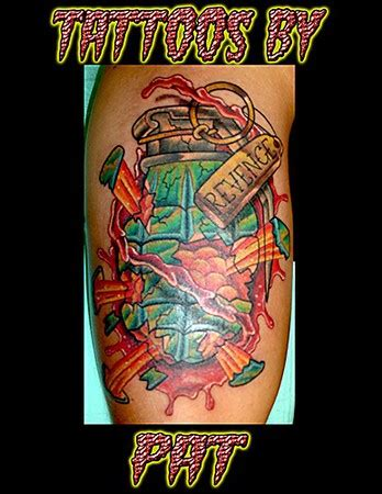 new school grenade tattoo lucky 7 tattoo studio tattoos page 2 grenade tattoo