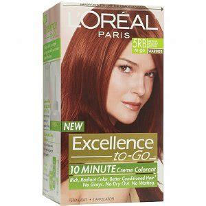 10 minute hair color l oreal excellence to go 10 minute creme hair color