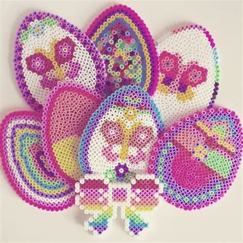 bead happy 47 best hama paques perler happy easter images on