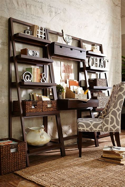 ladder desk and shelves 39 best storage organization images on pinterest
