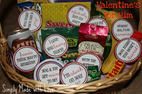 valentines basket for him simply made with s for him free printable