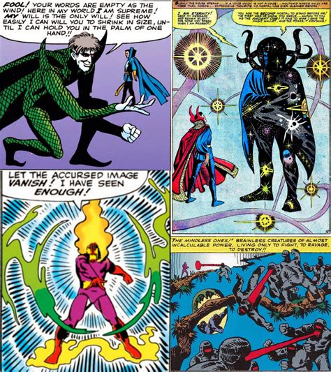 Dr Xargles Book Of Earth Tiggers Silver Tales Story Book Str Silvtl doctor strange s enemies and villains