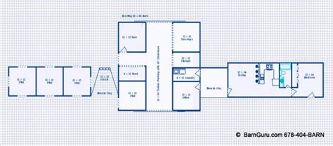 horse barn with living quarters floor plans damis pole barn living quarter plans