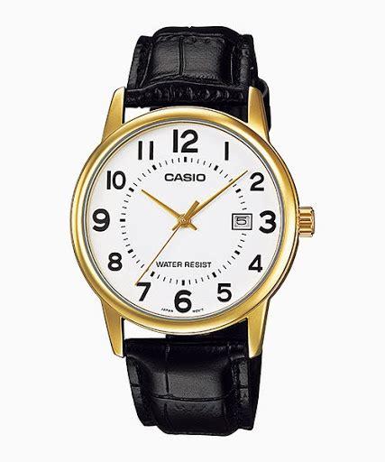 Jam Tangan Pria Casio G Shock 002 jual casio standard mtp v002gl 7b jam tangan casio
