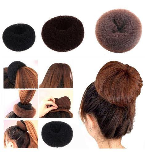 sponge hair styling bun maker sponge hair styling tool bun maker ring donut shaper